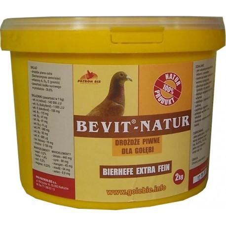 BEVIT®-NATUR - 100% натурална бирена мая на прах 2кг