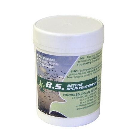 B.S. Belgica De Weerd - за лечение на трихомониаза, кокцидиоза и хексамилаза
