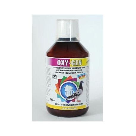 OXI-GEN е течна бирена мая за гълъби.